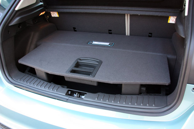 2012 Ford Focus Electric trunk space