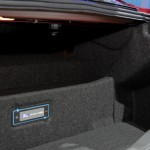 2013 Ford Fusion Energi trunk space right side